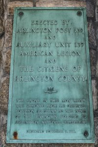 1930 American Legion Plaque
