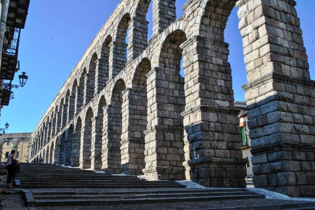 Aqueduct in Segovia, Spain