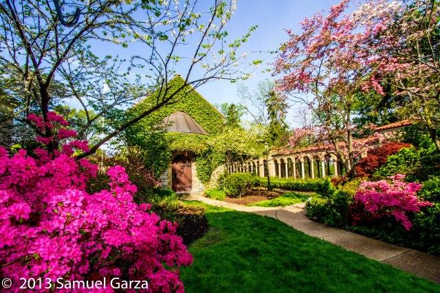 Garden and Chapel