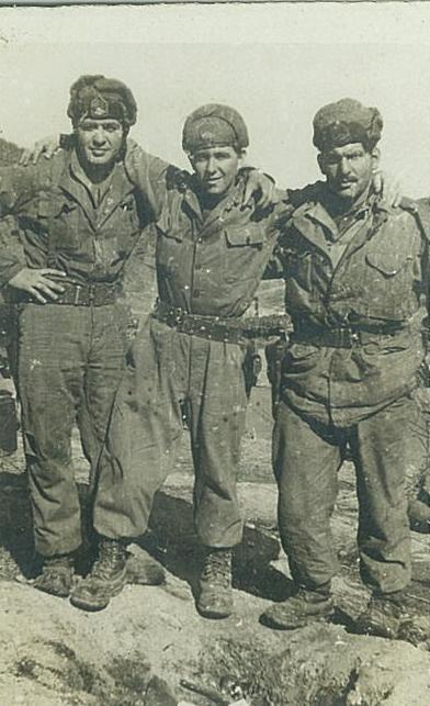 Sam Garza Sr. Korean War Photo