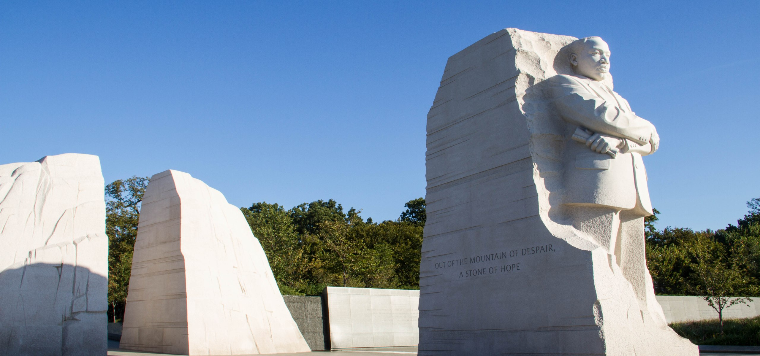 In remembrance of Rev. Dr. Martin Luther King, Jr. the Washington D.C. memorial