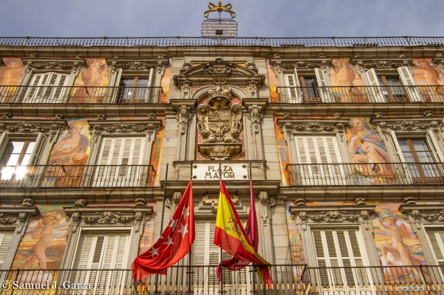 Wall Art and the Spanish Flag