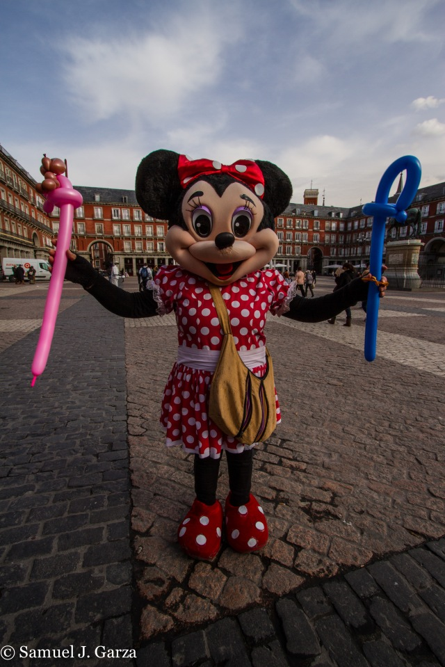 Yes, it's Minnie Mouse.