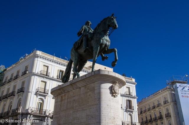 Statue of Charles III