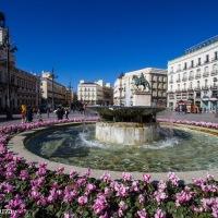 La Puerta del Sol in Madrid