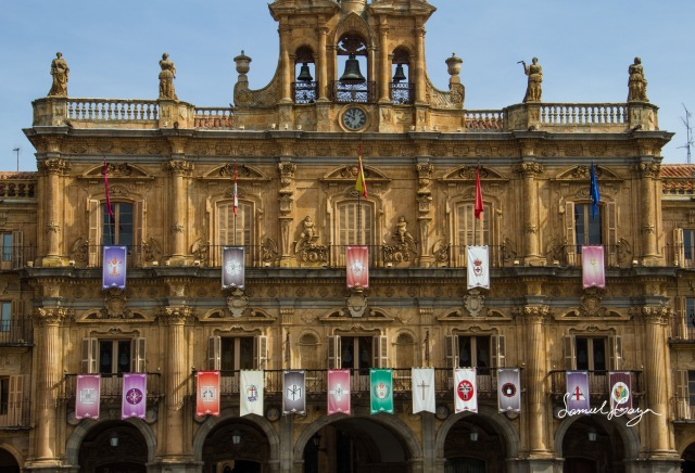 Flags of the Plaza Mayor