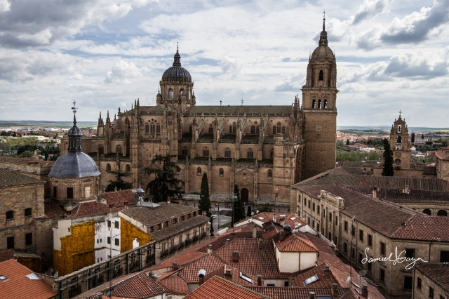 View of the Old and New Cathedrals from the iglesia.