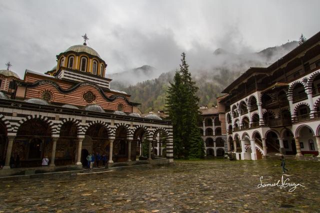 Rila Monastery.