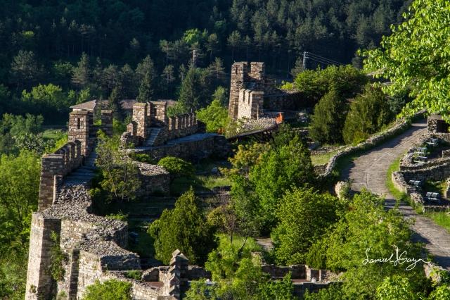 Fortress walls.