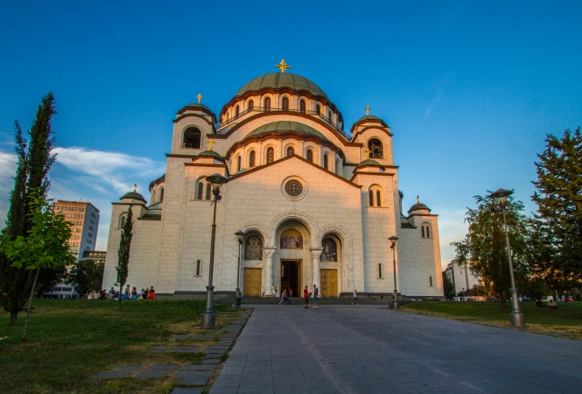 Cathedral of Saint Sava.