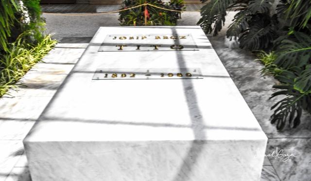 Tito's grave.