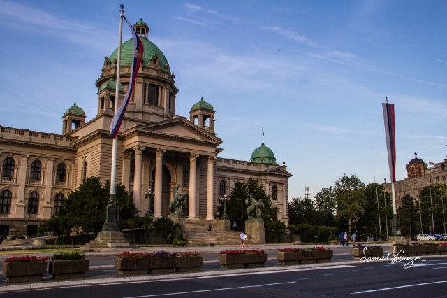 Palace of the Assembly of Serbia.