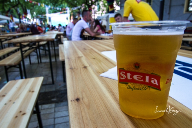 I liked the taste of Stela beer compared to the others being offered.