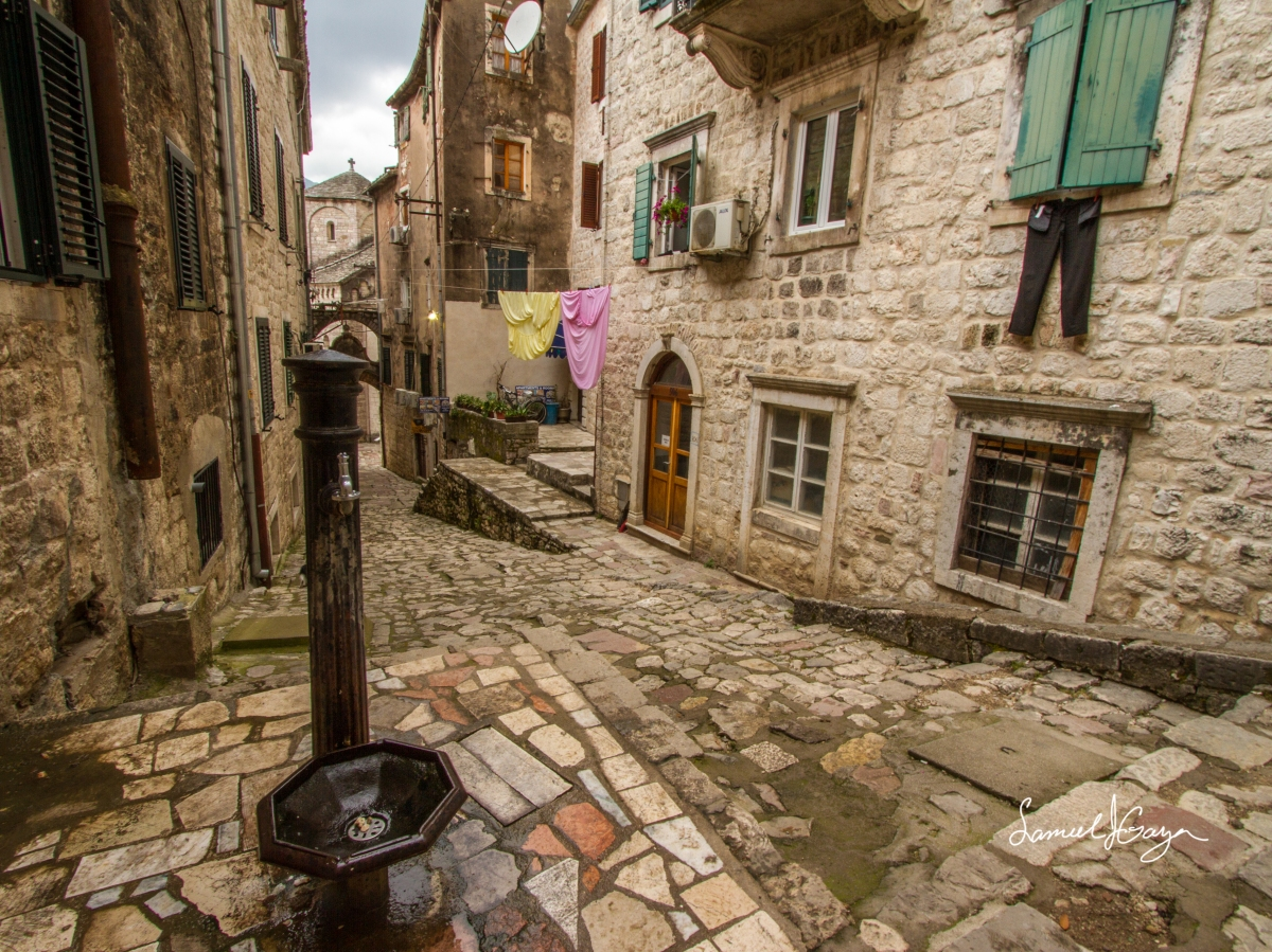 The Medieval Streets of Kotor