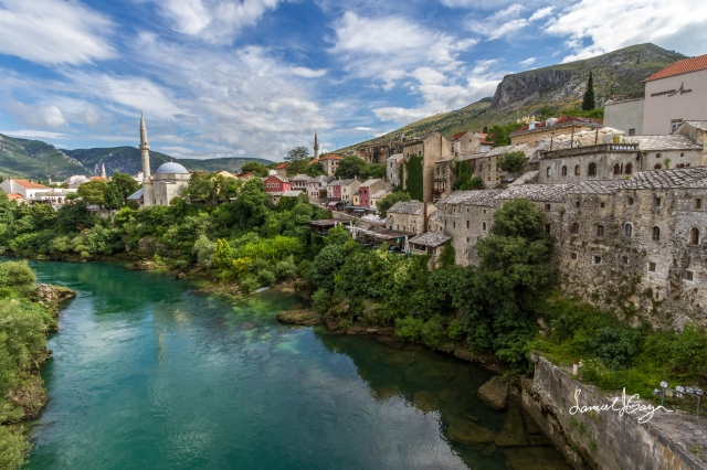 Old Town along the Neretva River.