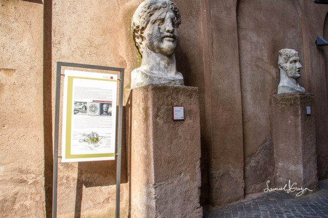 Bust of Hadrian.