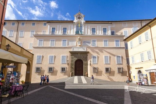 Apostolic Palace of Castel Gandolfo.