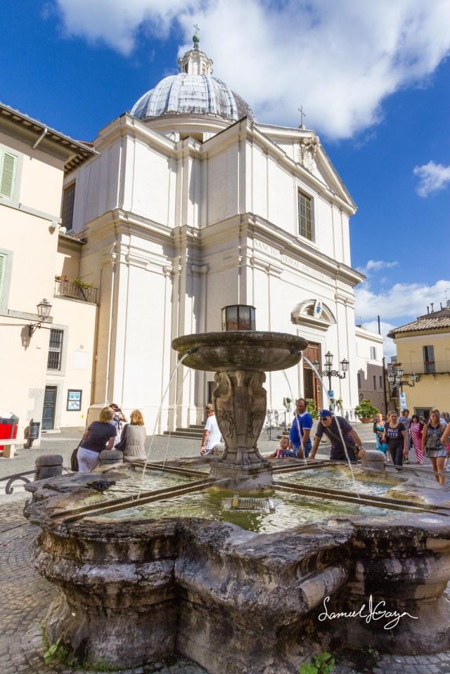 Castel Gandolfo Fountain.