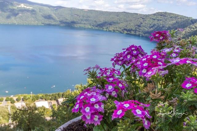 Lake Albano.