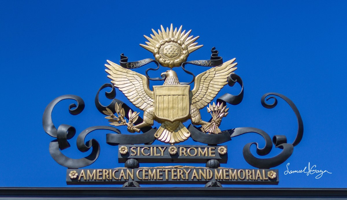 My Visit to the Sicily-Rome American Cemetery and Memorial
