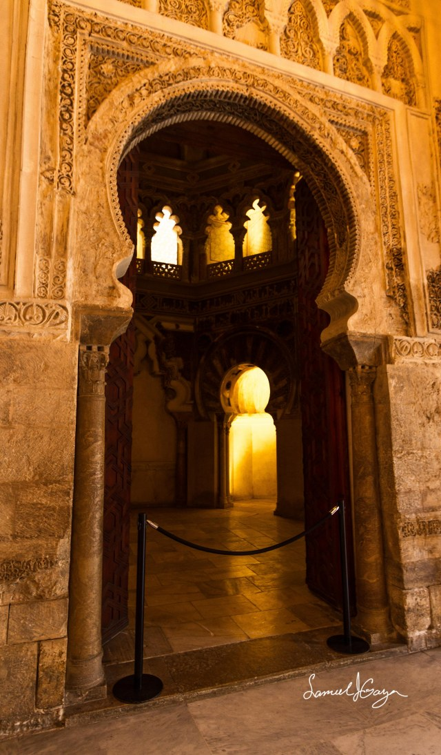 Oratory:  Niche of Mihrab
