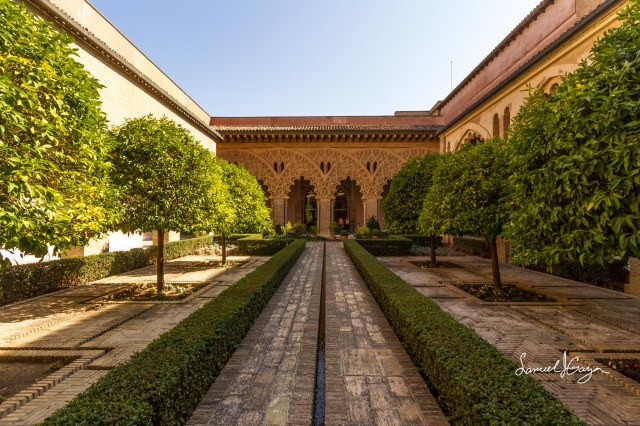 Saint Isabel's Courtyard