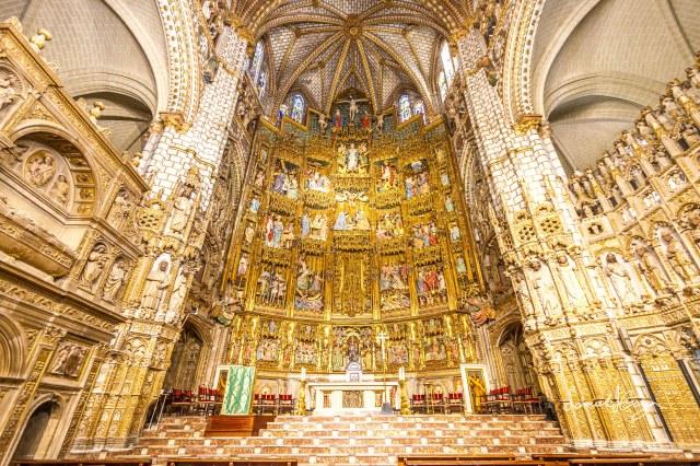 The Main Chapel.