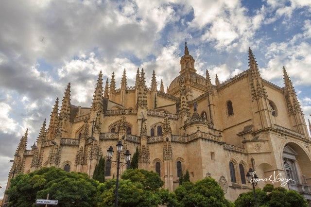 Catedral de Segovia.