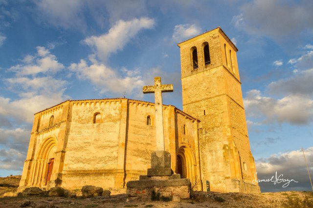 The Church of Vera Cruz.