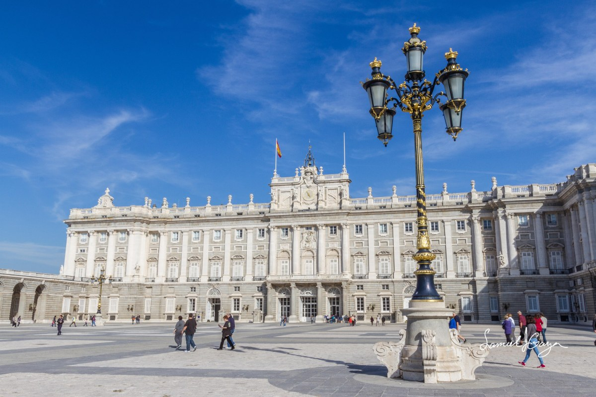 Palacio Real de Madrid/Madrid's Royal Palace