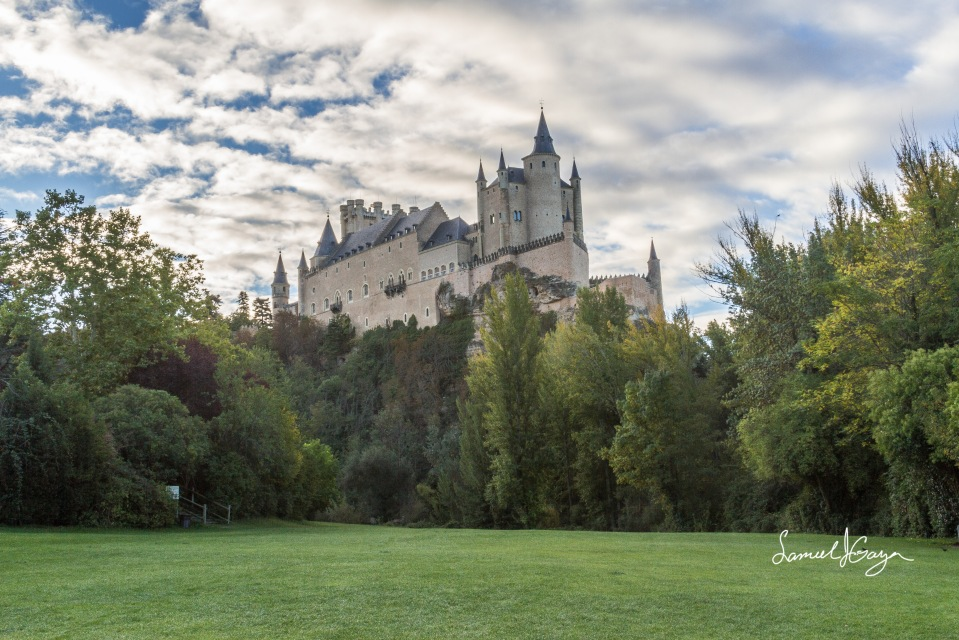 The Alcazar of Segovia.