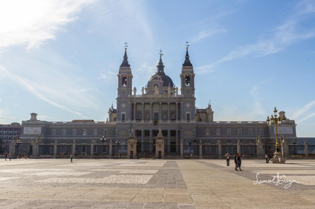 Almudena Cathedral.